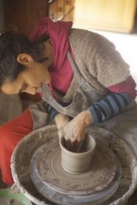 Malika Chouieb,  céramiste