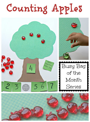 Counting Apple Learning Activity