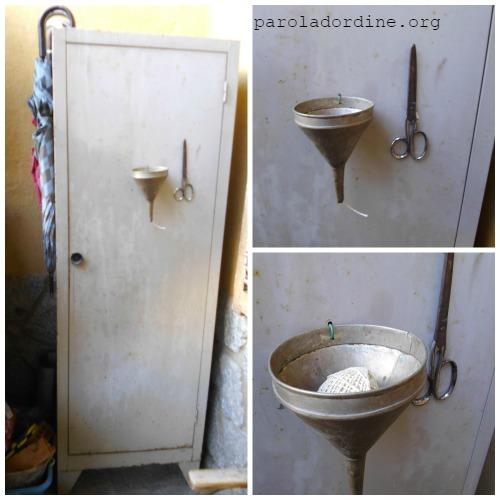 lastanzaverdedicri armadio porta rotolo di spago