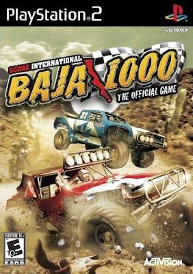 Score International Baja 1000 PS2