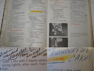 Purity Cookbook Dark Christmas Cake Recipe
