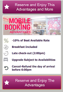 LGH - Mobile Booking  Advantages