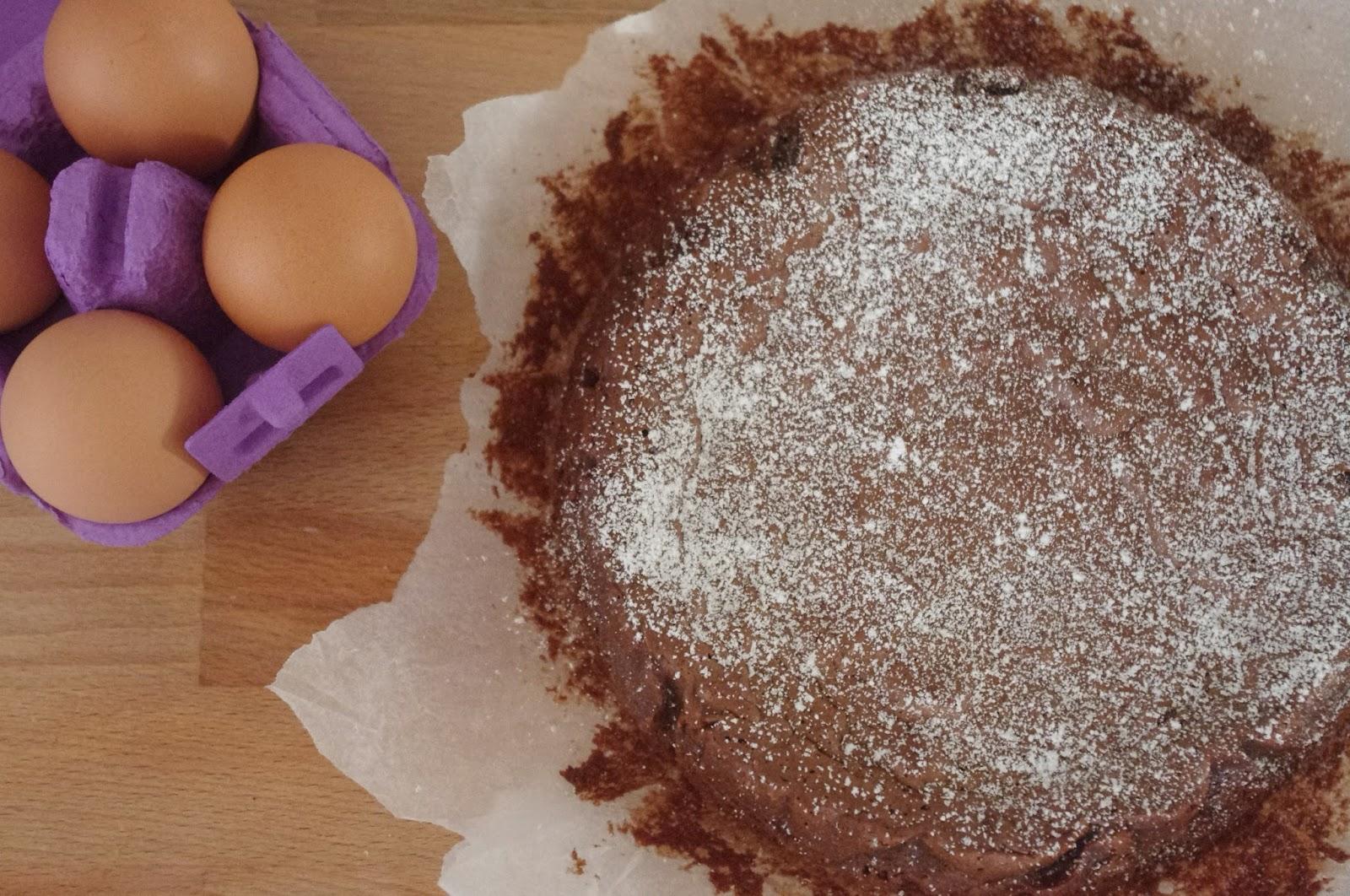 simil moelleux al cioccolato fondente e scorza d'arancia