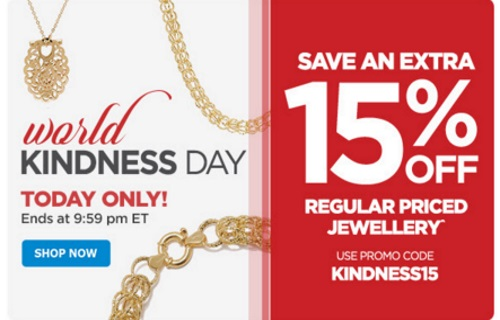 The Shopping Channel Extra 15% Off Jewellery Promo Code