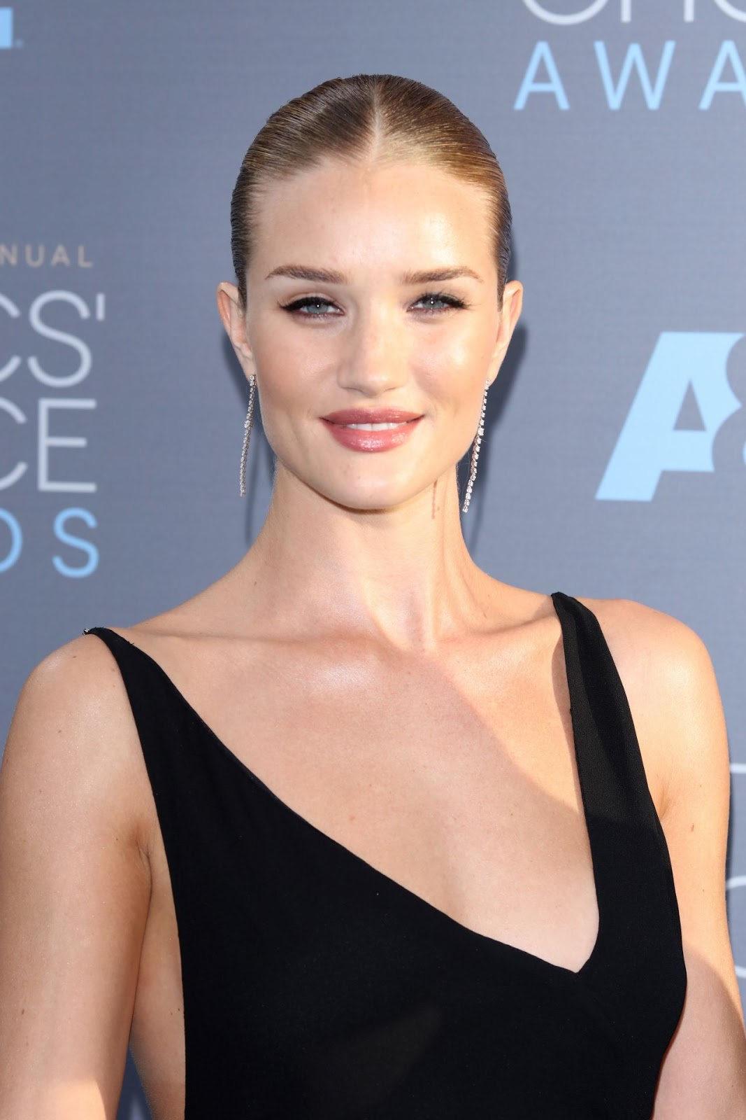 Jason Statham & Rosie Huntington at 2016 Critics Choice Awards