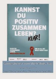 Gottesdienst zum Welt-AIDS-Tag