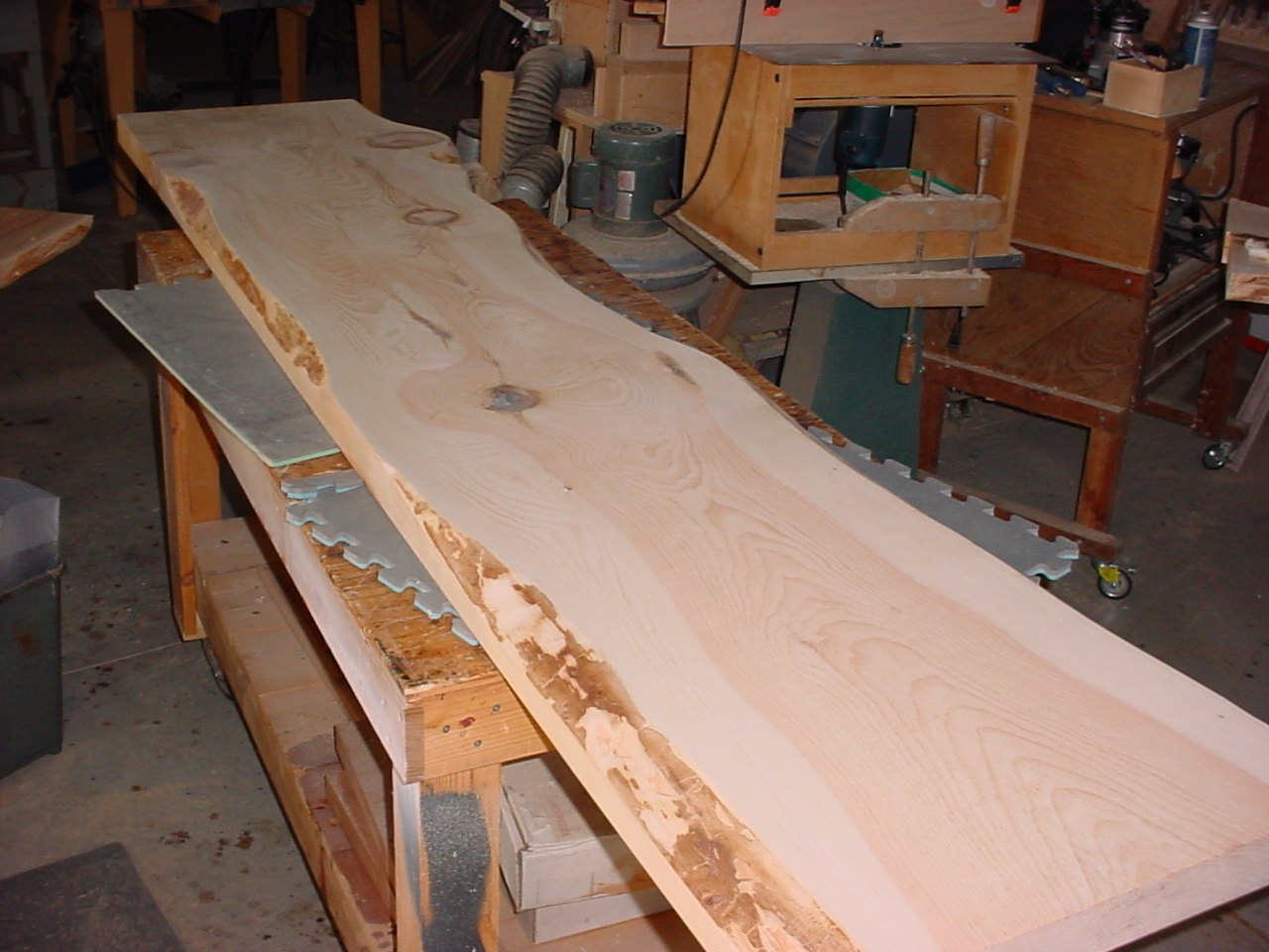 White Pine Slab Is Ready To Finish