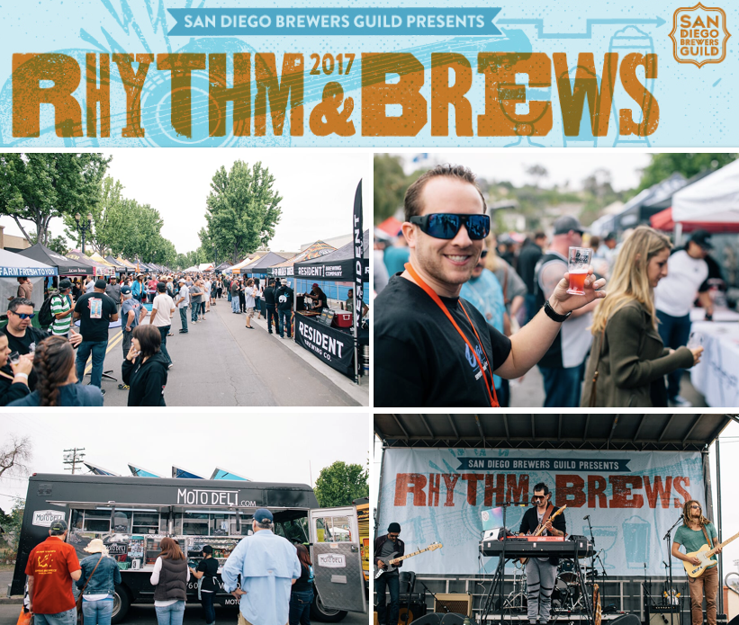Don't Miss San Diego Brewers Guild's Rhythm & Brews - May 6!