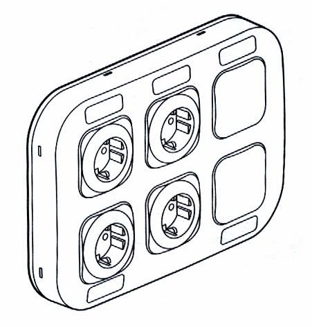 Рамка для розеток и выключателей Legrand