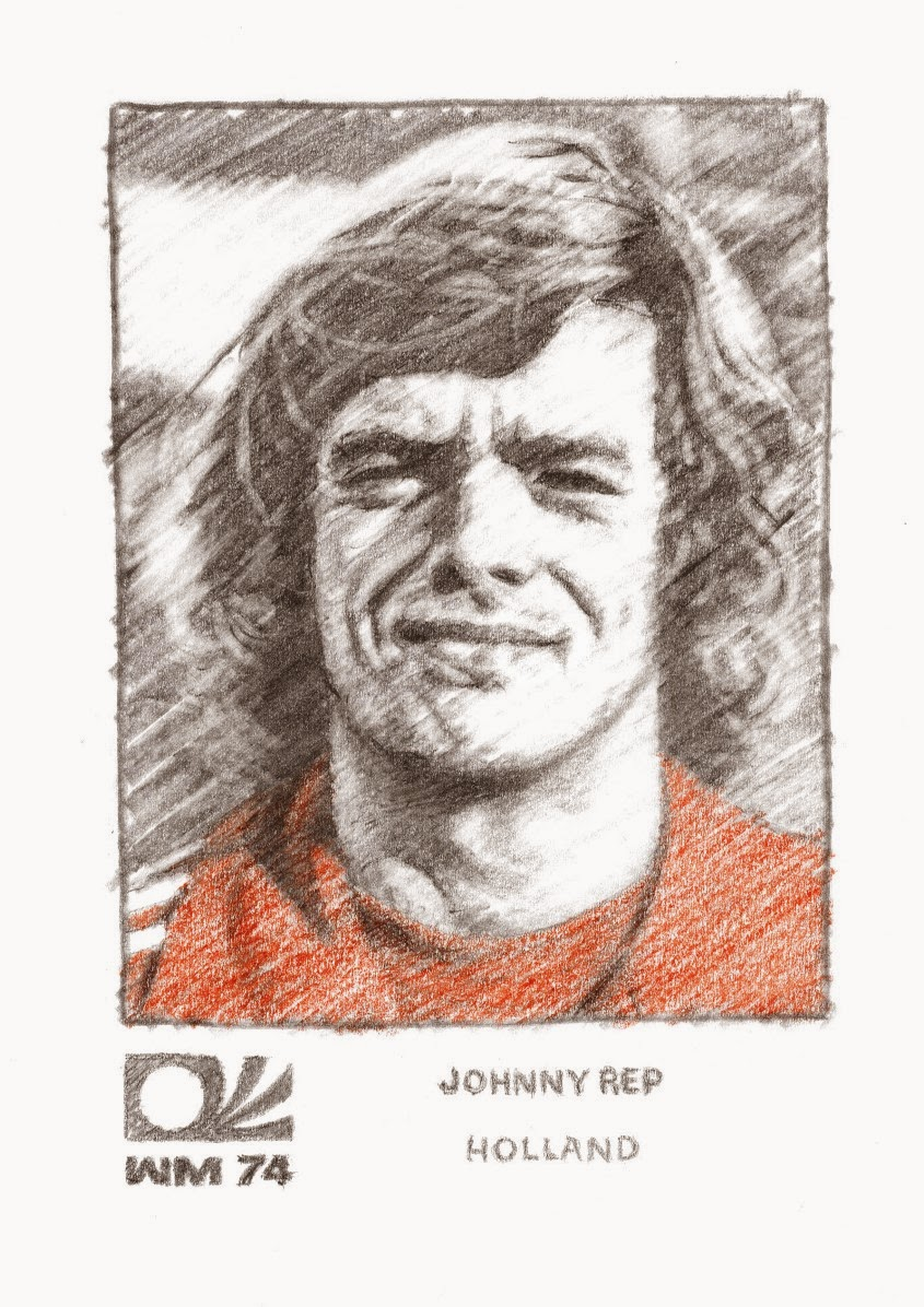 The Opposite of Tomato World Cup 74 Portrait 34 Johnny Rep