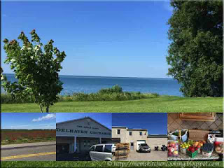 food road trip on the shores of Lake Erie