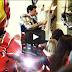 Curiosidade.: Casamento quase é arruinado por Ironman, Batman e... ninjas!