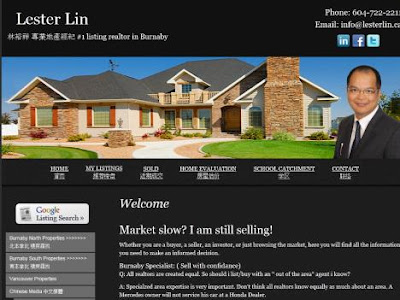 Lester Lin - #1 Listing Realtor in Burnaby