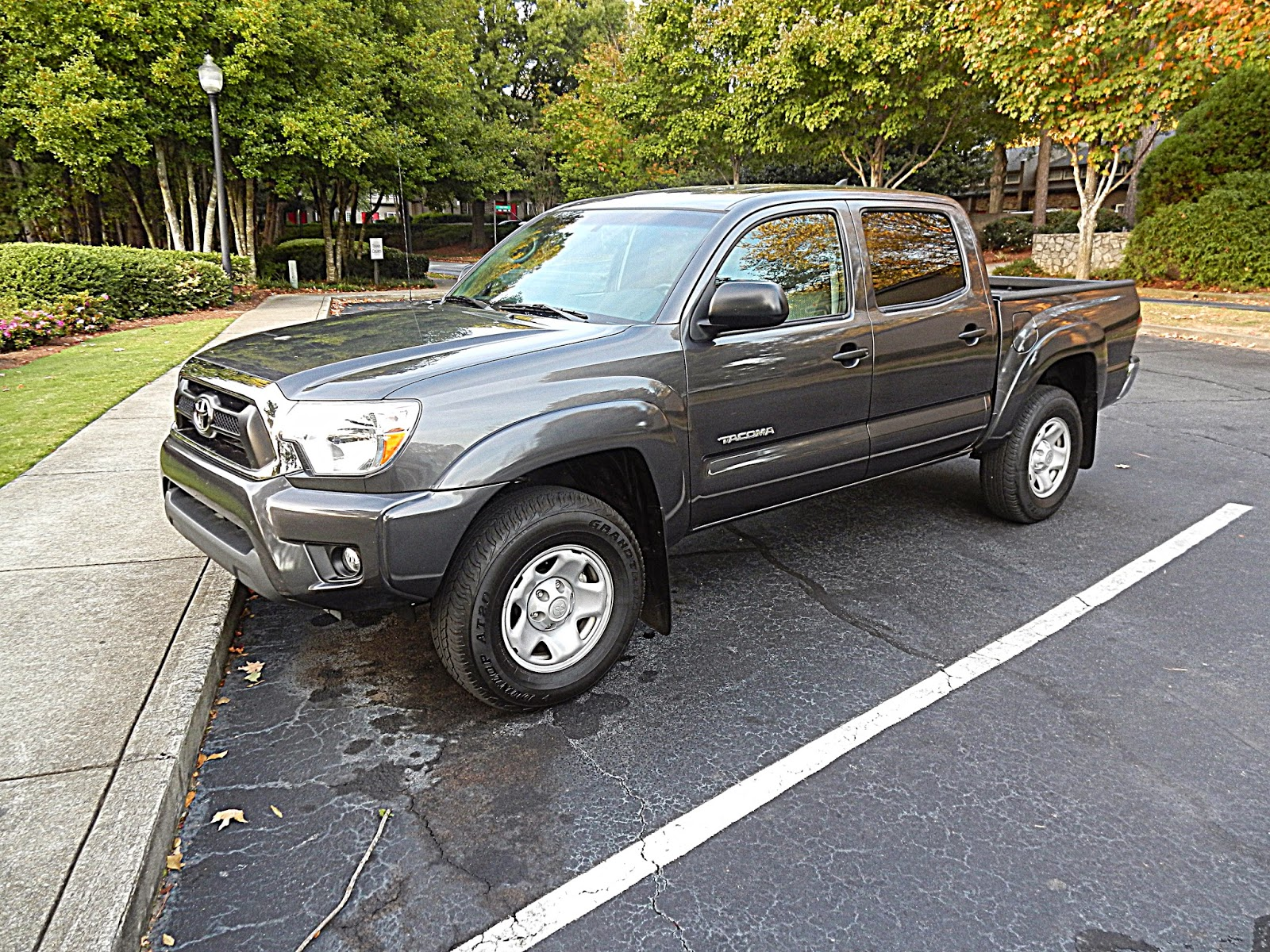 After riding in the 2014 toyota tundra 4x2 1794 crewmax i felt super comfortable handling the tacoma double cab the toyota tacoma is ranked as the
