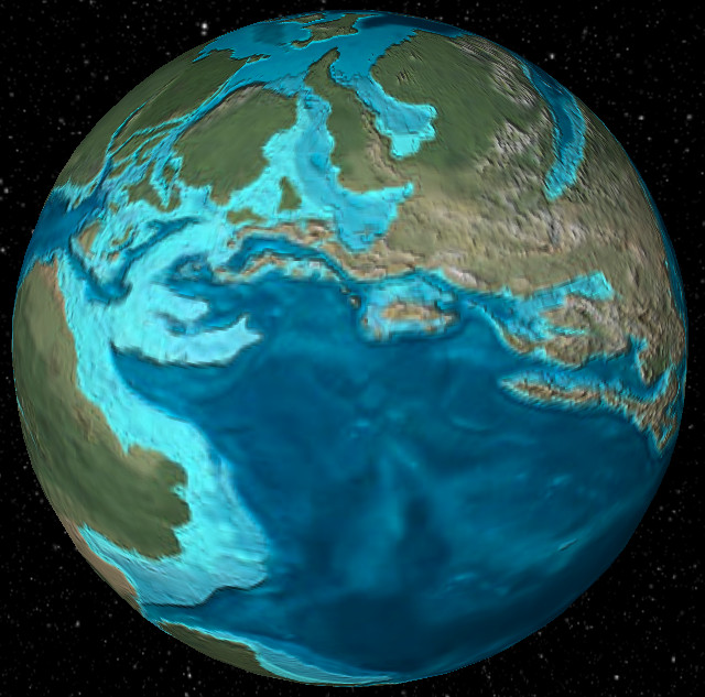 What did earth look like 600 million years ago ecoclimax jurassic period dinosaurs thrived as the first mammals and birds evolved ocean life diversified and the earth was very warm gumiabroncs Image collections