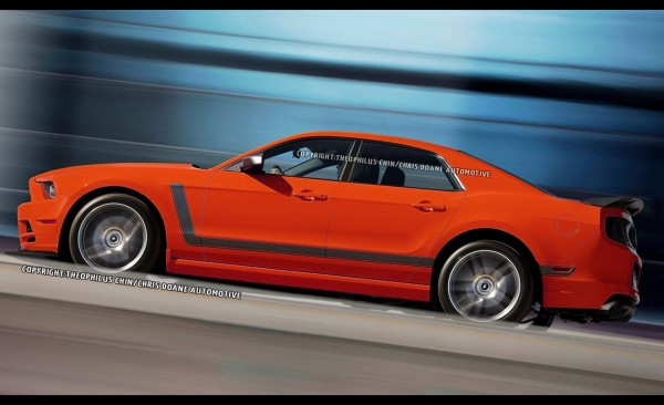 proposition  ford mustang berline