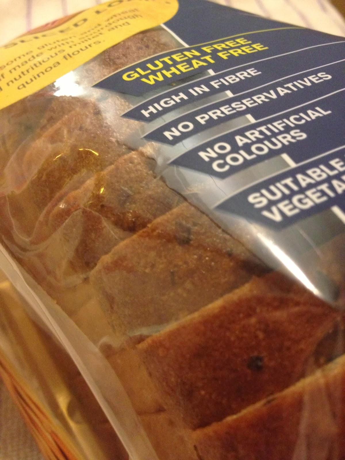 ds gluten free seeded sliced loaf