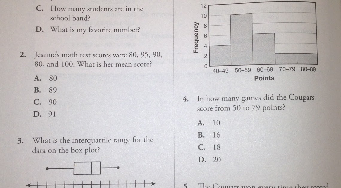 6th grade probability test pdf