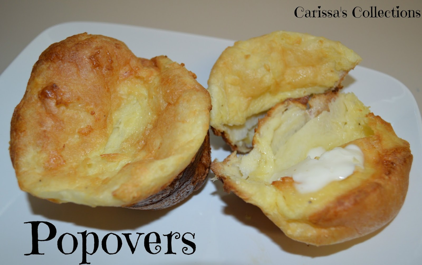 Carissa's Collections: Popovers