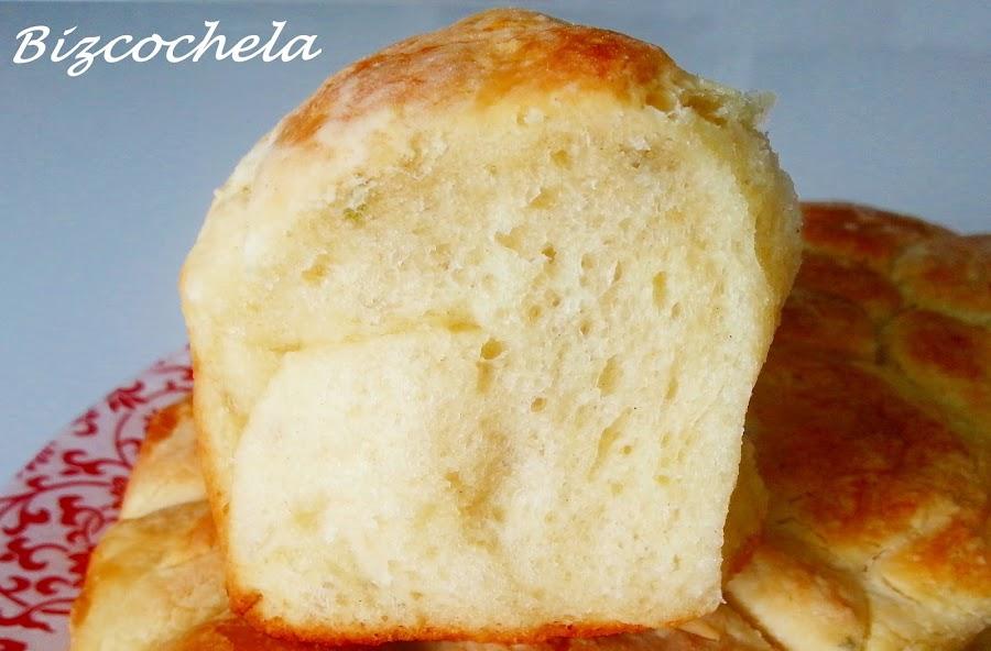 Monkey bread o pan de mono. Un pan de nombre original que se hace con patata