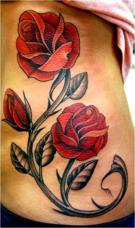 Trend tattoo styles simple and beauty rose tattoo for Easy rose tattoos