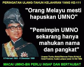 Wasiat buat Melayu..