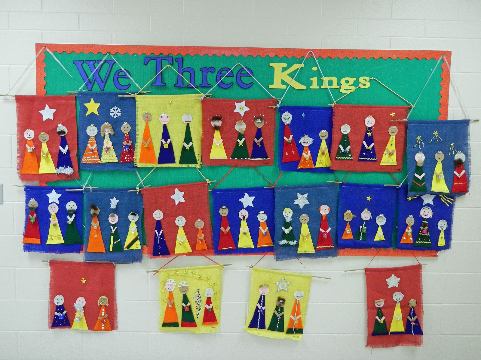 Grade 5 Did The We Three Kings Banners