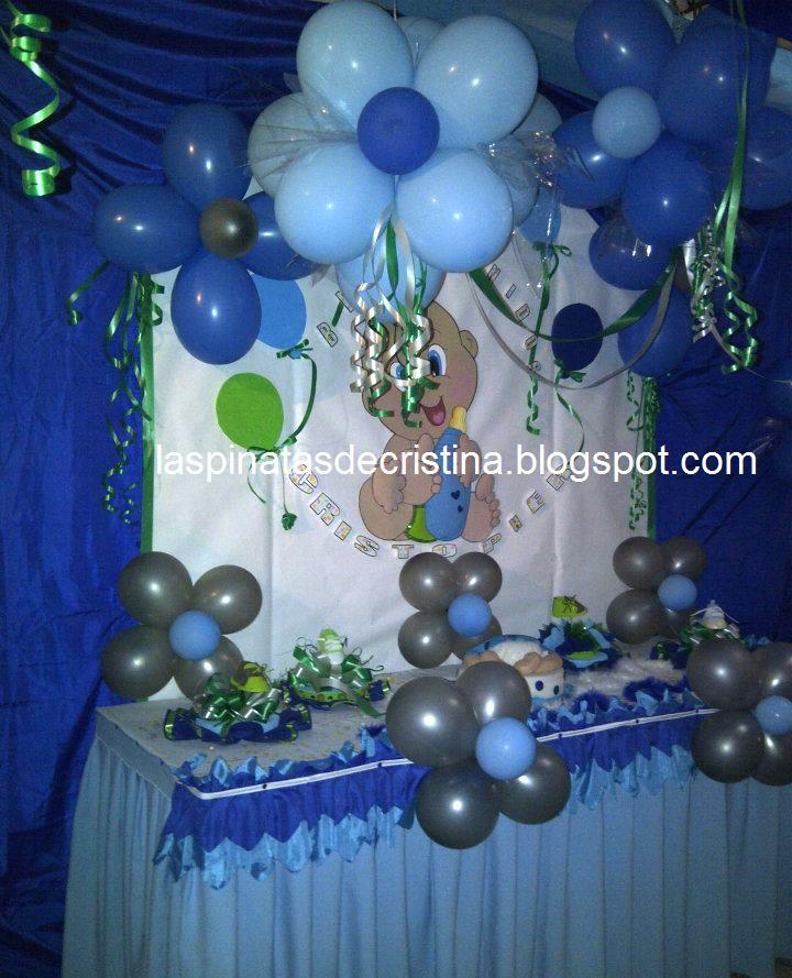 Las pi atas de cristina julio 2012 for Baby full month decoration ideas