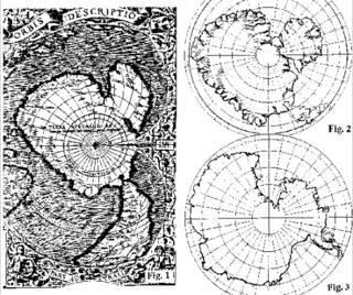 Misteri Peta Antartika Buatan Oronteus Finaeus