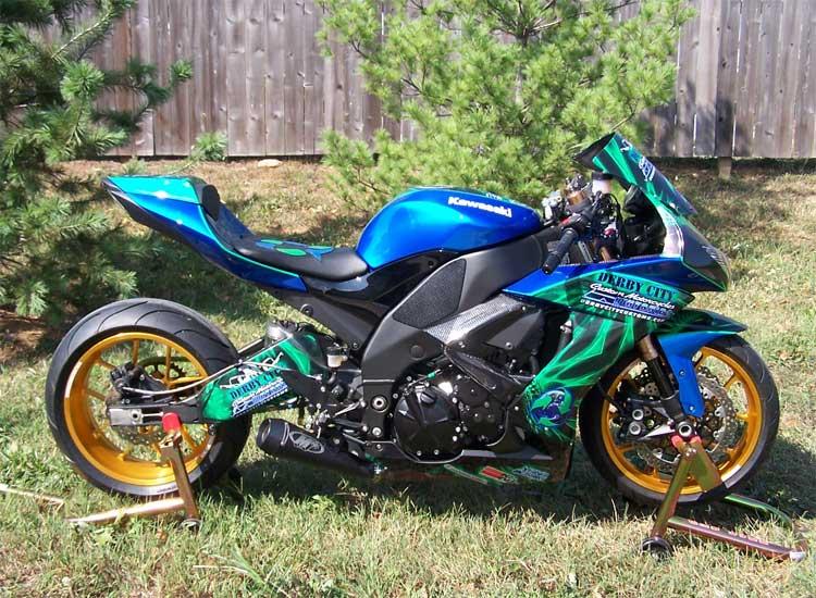 Ideal Bikes Custom Kawasaki Motorcycles