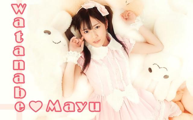 Wallpaper Mayu Watanabe