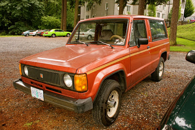 1986 Isuzu Trooper II.