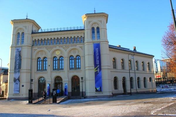 Oslo Centrum Pokojowej Nagrody Nobla