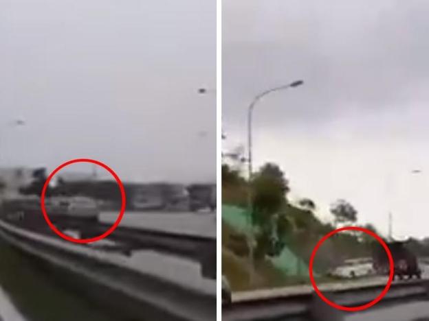 Pemandu lawan arus, Punca MPV kemalangan