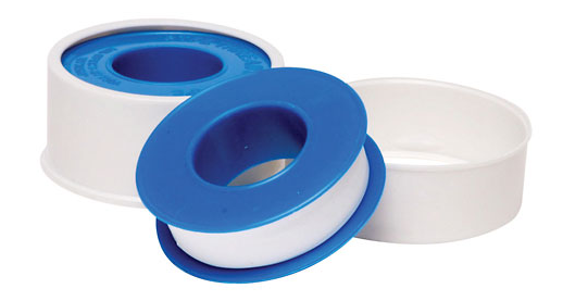 how to use teflon tape on plastic pipe threads