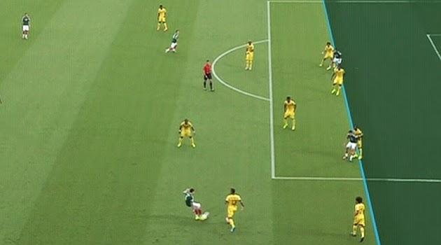 Anularon 2 Goles a México