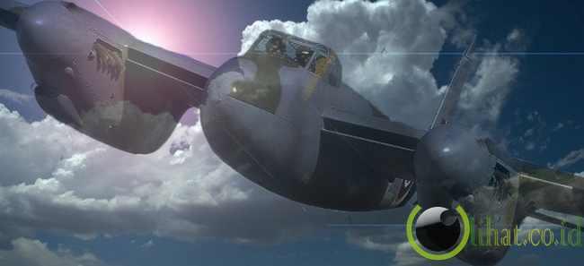 Pippo, Pesawat Berhantu