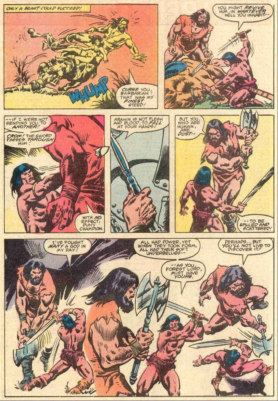 Conan the Barbarian (1970) Issue #135 #147 - English 22