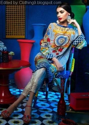 Sapphire by Khadijah Shah Pret 2015-16