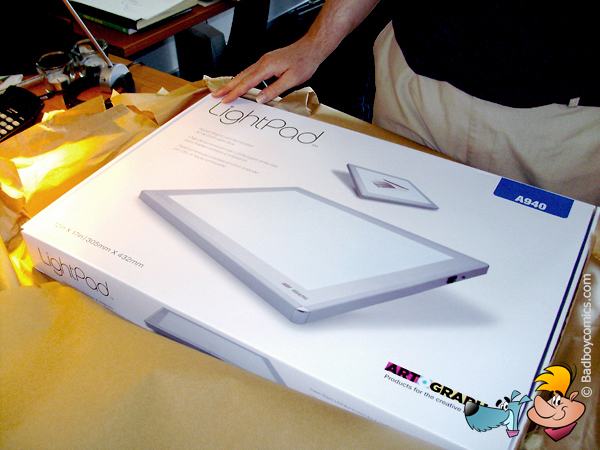 Artograph Lightpad A940-lightbox-comics