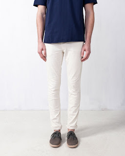 pantalon blanco hombre