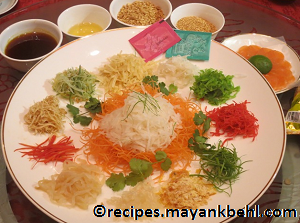 authentic Yu-Sheng recipe