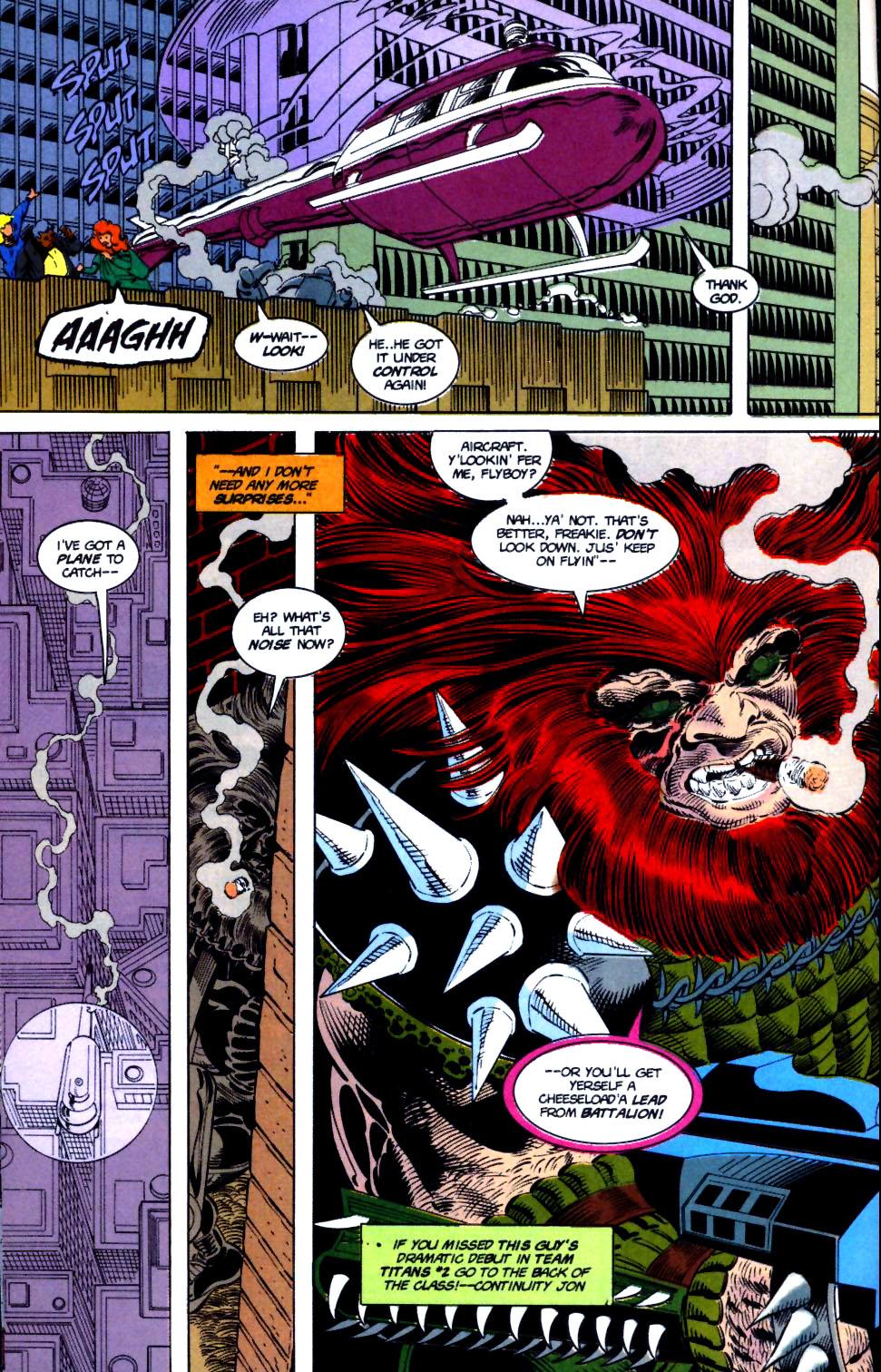 Deathstroke (1991) Issue #16 #21 - English 8