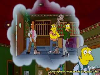 MOE COGE, MOE COGE A UNA ENANA, MOE Y LA ENANA, LA ENANA DE LOS SIMPSONS, LA DE LOS SIMPSONS DESNUDA, El gran pequeño amor de Moe