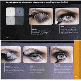 Aprenda a criar um olhar clássico e intenso