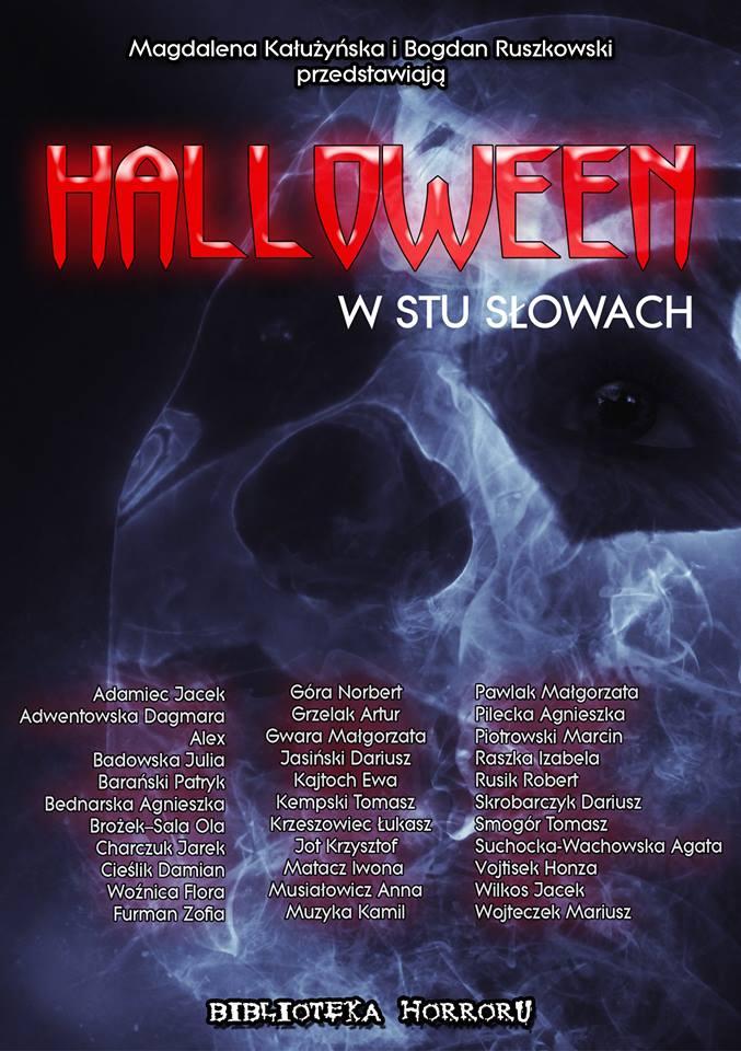 """Antologia """"Halloween w stu słowach"""" do pobrania za darmo!"""