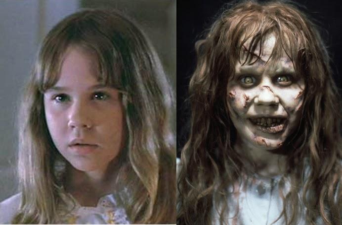 el exorcista niña malvada