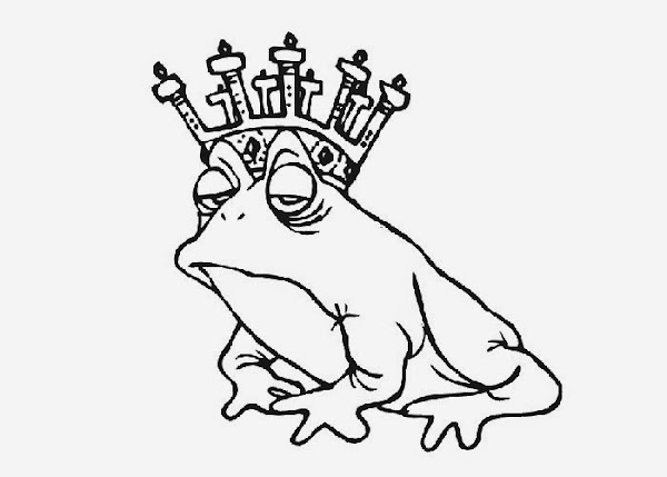baby frog coloring pages - photo#18
