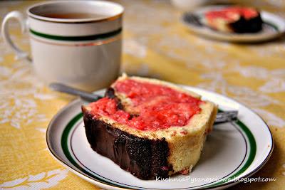 48. Rolada truskawkowa...prosta, popisowa, pysznościowa