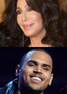 Cher and Chris Brown